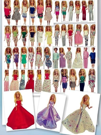 Campeão De Vendas! 50 Looks* Roupinhas Para Bonecas Barbie