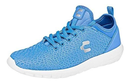 Tenis Deportivos Para Dama Charly 1049195 Azul Poi19