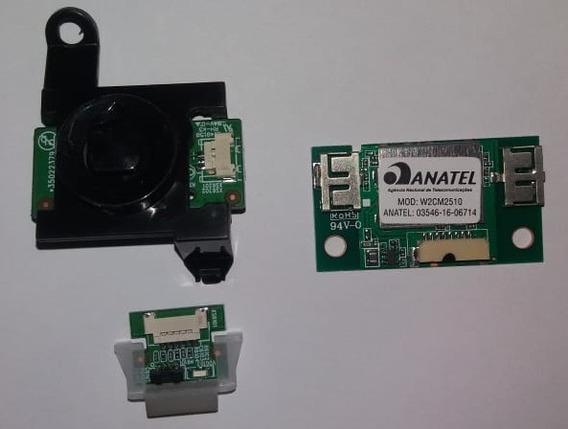 Botão Power + Sensor Da Tv Semp L43s3900fs (envio Grátis)