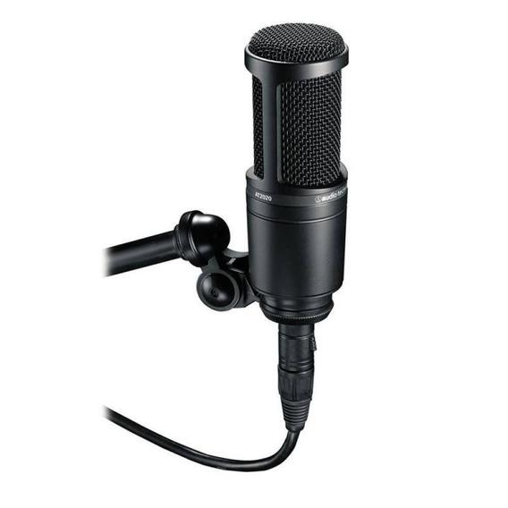 Microfone Condensador Audio Technica At-2020 Xlr