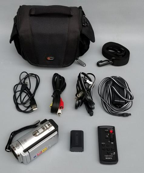 Câmera Filmadora Digital Sony Handycam Dcr-sx44, Com Maleta.