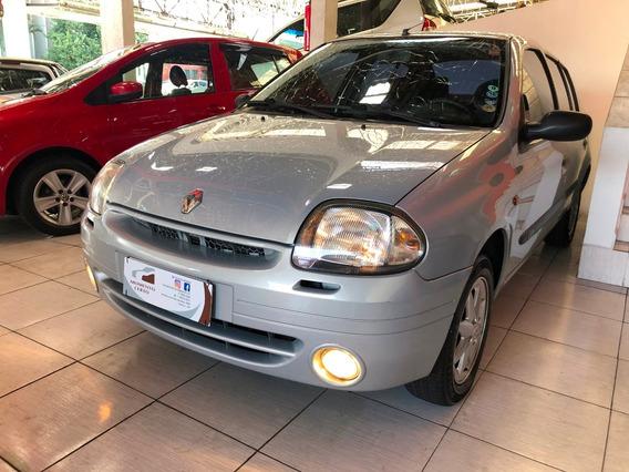 Renault Clio Sedan 2001 1.0 16v Rt 4p - Completo
