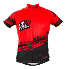 Camisa Ciclismo Camiseta Bike Line 1 Vermelho/preto