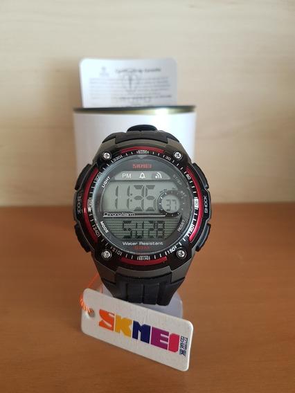 Relógio Skmei 1203 Black/red Original - Frete Grátis - Sport Series Tático Militar Outdoor - Super Promoção
