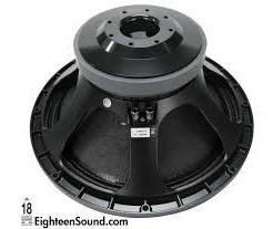 Parlante Eighteen Sound 18lw2400 Rcf 1200 Watts 18sound Das