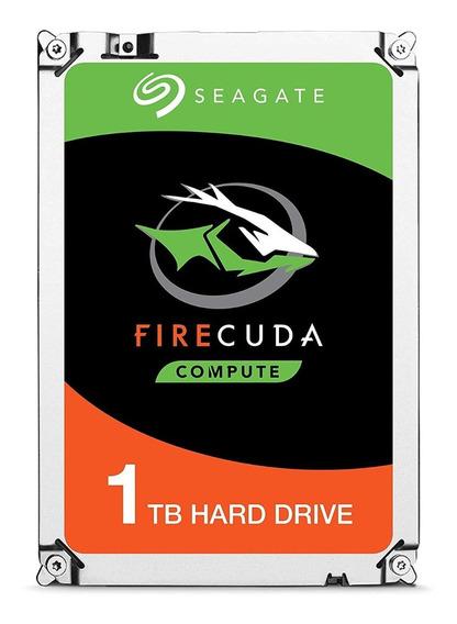Sshd Seagate Firecuda 1tb (8gb Ssd) St1000lx015 2.5 Sata 6gb