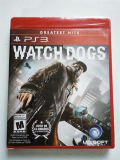 Watch Dogs Ps3 Nuevo Y Sellado