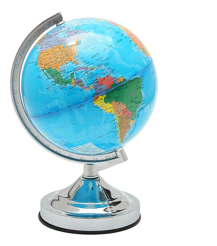20cm Light Globe Mapa Mundo Geográfico Politico Planeta Tier