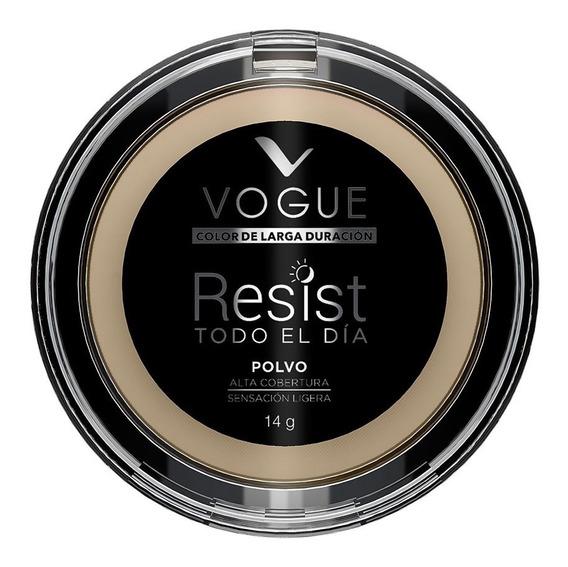 Polvo Compacto Resist Tono Porcelana Vogue
