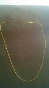 Cordão De Ouro 18 K