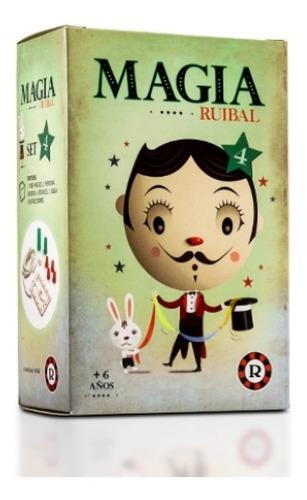 Set Infantil De Magia 4 Juego De Magia Trucos Ruibal Edu