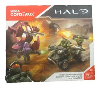 Mega Bloks Construx Halo Vehiculo Unsc Gungoose Rampage