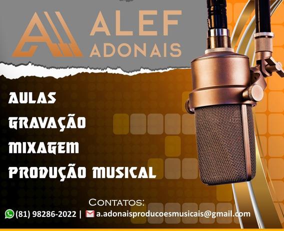 Gravação Musica, Cd, Play-back, Locução, Anúncios