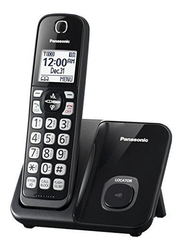 Teléfono Inalámbrico Expansible Panasonic Kx-tgd510b Con