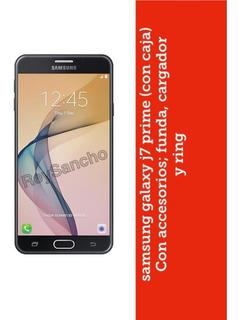 Celular Samsung Galaxy J7 Prime Perfecto Estado.