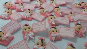 50 Unidades De Lembracinha Nascimento E Chá De Bebê
