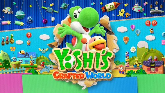 Yoshi S Crafted World - Jogo Nintendo Switch - Digital