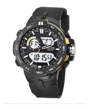 Relógio Digital Masculino Alike Pronta Entrega