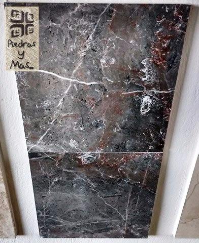 Marmol Granito Negro Monterrey Emperador 30x30 Regalos Incl!