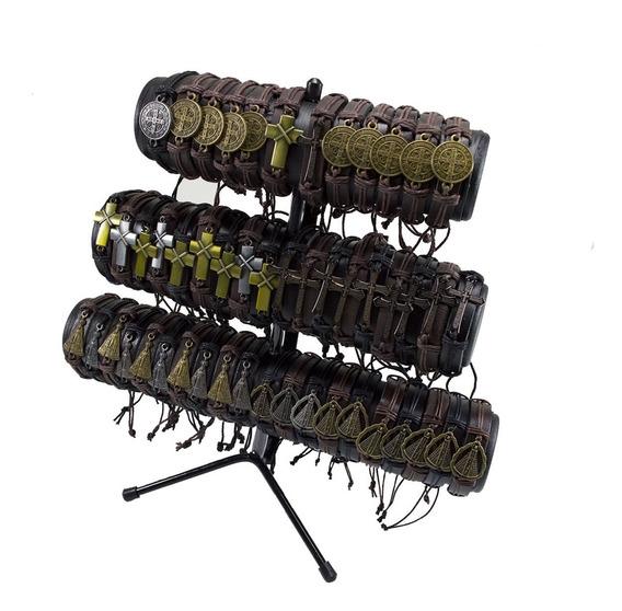 Pulseiras De Couro Para Revenda - 50 Unidades