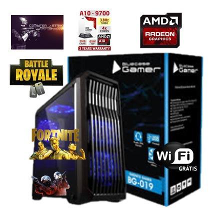 Cpu Gamer A10 9700 Am4 8gb Ddr4 Hd 500gb Video Radeon R7