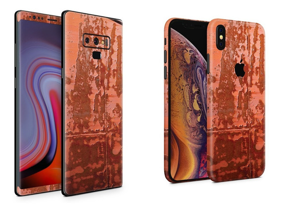 Skin Rust Metal Apple Samsung Huawei Lg Sony Xiaomi Etc
