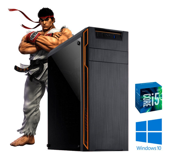 Pc Gamer I5 2ª Gen 8gb Hd 500 Ssd120 Win10 Pró Dvd Vídeo 2gb