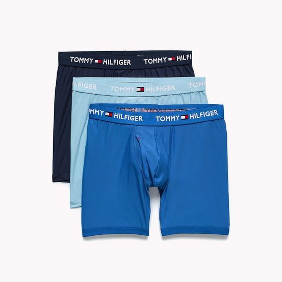 Cueca Boxer Tommy Hilfiger Microfiber Boxer Brief 3- Pack