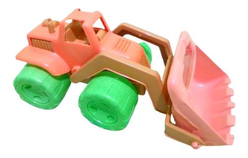 Carro Tractor Plástico Camion Volteo Excabadora