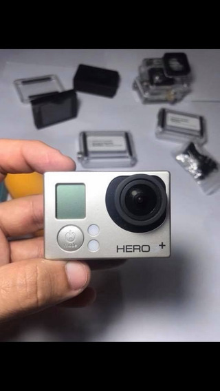 Gopro Hero 3+ Black Edition Com Lcd Bacpac