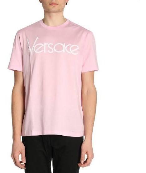 Tshirt Versace Pink Unissex.