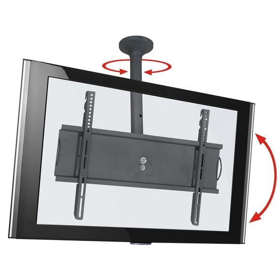 Suporte De Teto Sky Pro P Multivisão Para Tv 32 A 65 Polegadas Com Regulagem De Altura De 50 A 70 Cm