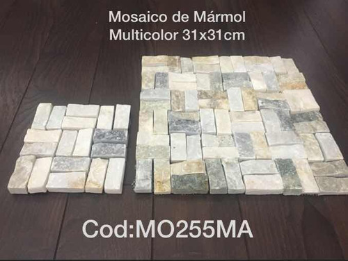 Mosaico De Mármol Multicolor 31x31cm