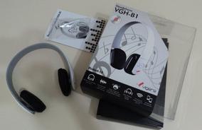 Fone Sem Fio Bluetooth / Headphone Vgh-b1 - Vigere Branco