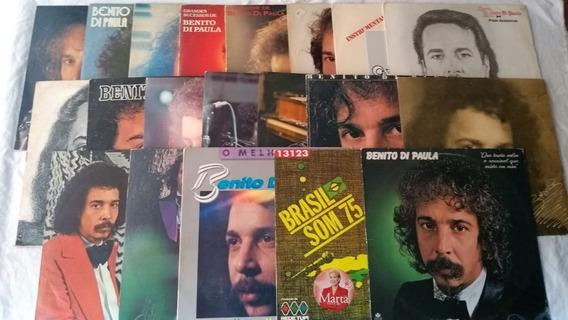 Lp Vinil - Benito Di Paula Lote 20 Discos Veja Fotos