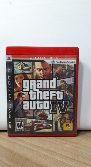 Grand Theft Auto 4 Ps3 Usado