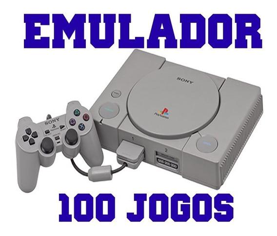 Emulador Playstation 1 Com 100 Jogos Já Configurado