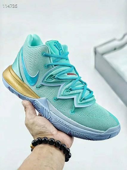 *leia A Descrição* Tenis Nike Kyrie 5 Lula Molusco Bob Esponja Patrick Original Na Caixa Com Frete Gratis