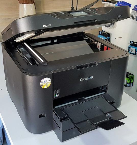Multifuncional Canon 2710 C/ Bulk Ink 500ml