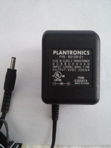 Fonte Original Plantronics 9v 500 Ma
