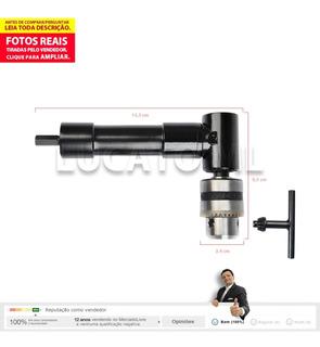 Adaptador P/ Furadeira Parafusadeira Mandril Angular 90° Nc