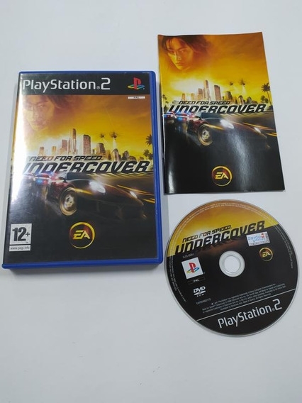 Need For Speed Undercover - Ps2 - Sony - Completo