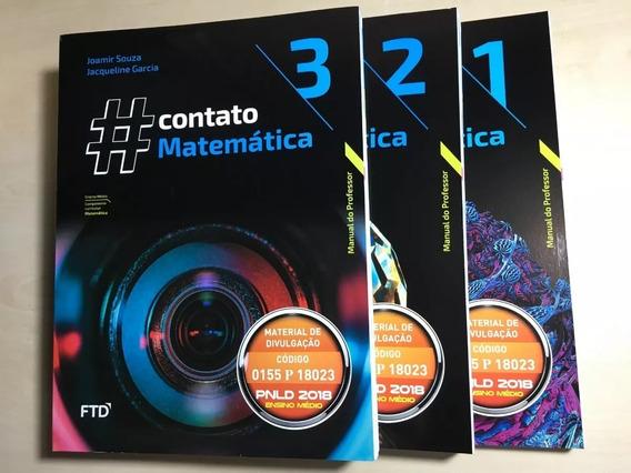 Coleção Contato Matemática - Professor [ftd] Vol. 1, 2 E 3