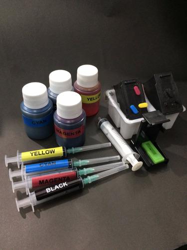 Cartuchos Canon Mg3510,mg3610 Recargables+ Tintas + Purgador