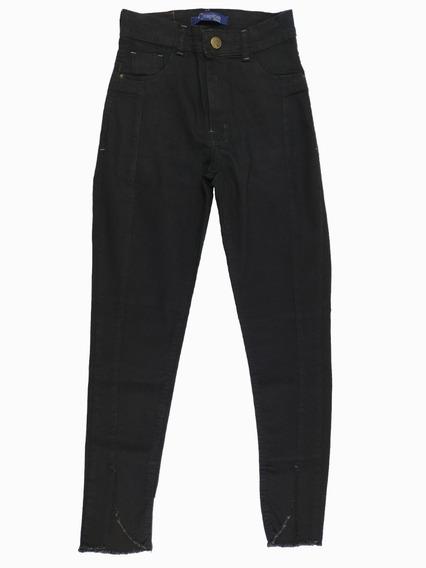Calça Jeans Skinny Feminina Preta