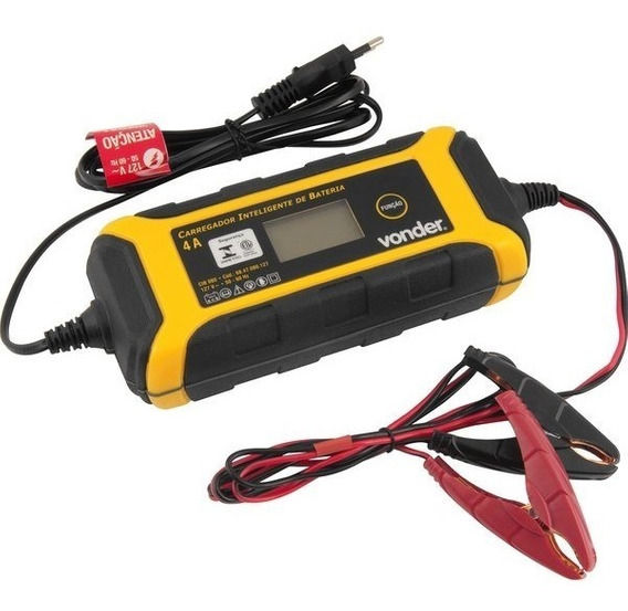 Carregador Inteligente De Bateria 12v E 6v Ci080 Vonder 127v