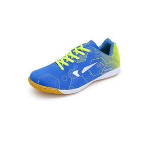 Tênis Onity Masculino Futsal F20 - Azul/limão