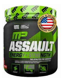 Assault Mp 345g Pré Treino Musclepharm- Importado- Original!