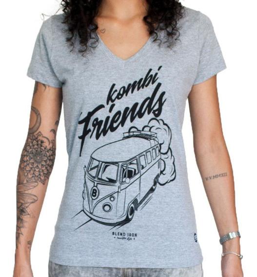 Camiseta Feminina - Kombi Friends