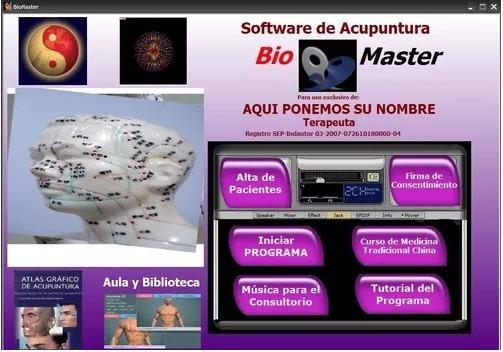 Acupuntura Software Profesional Envío Por Internet